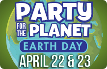 Celebrate Earth Day at the Aquarium. Click to view details.