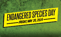 Endangered Species Day on Friday, May 20, 2016