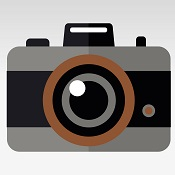 Graphic of a camera. Did you take a fun photo at The Downtown Aquarium? Find it here!