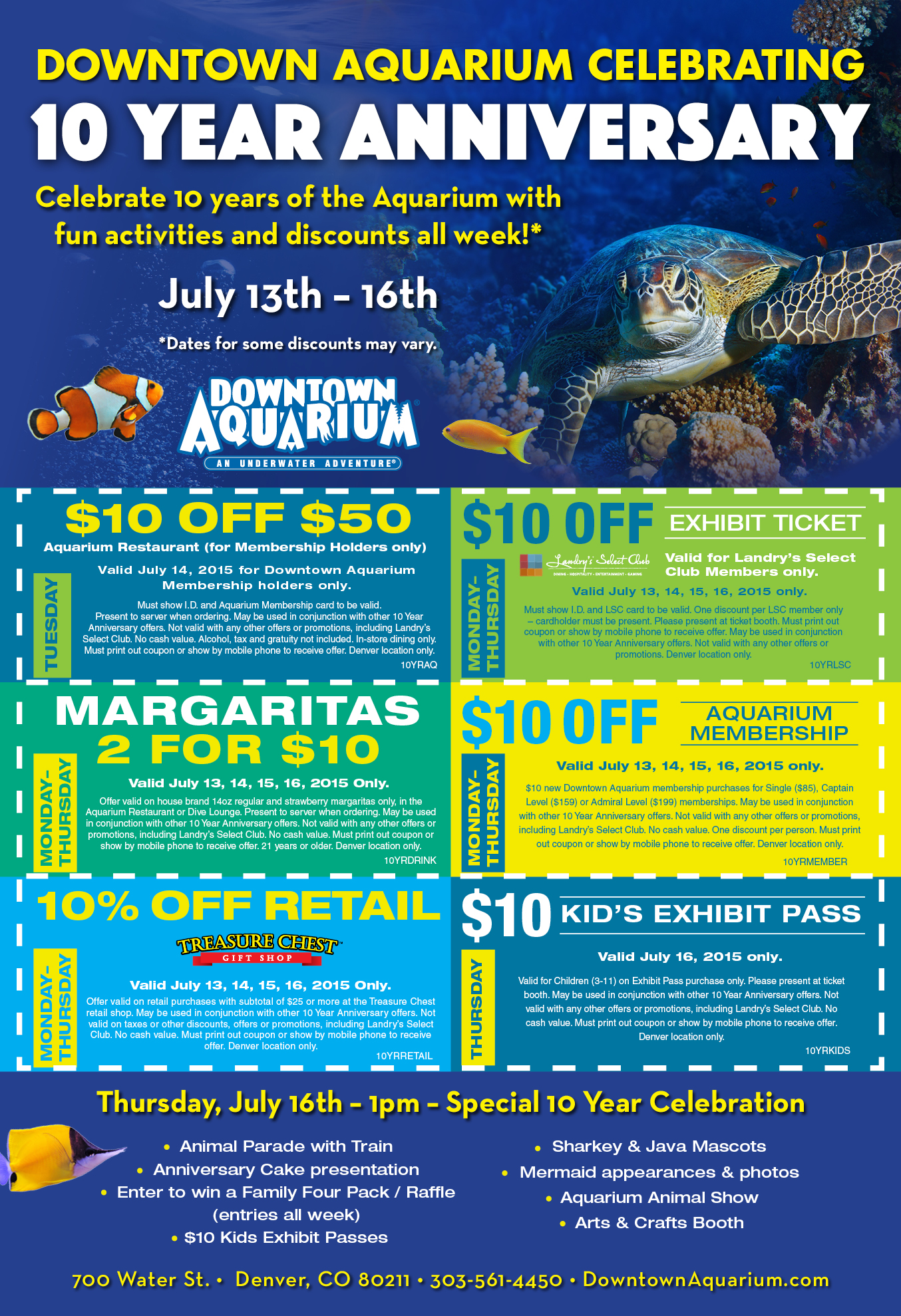 Sc aquarium discount coupons