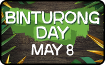 Binturong Day - BearCat Sat, May 6th.