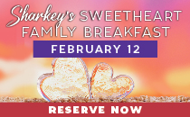 Sharkey's Sweetheart Breakfast