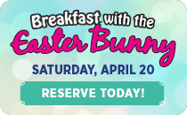 Downtown Aquarium - Breakfast with the Easter Bunny