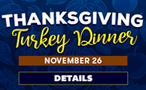 Thanksgiving Buffet. Click for details.