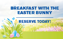 Breakfast with Easter Bunny